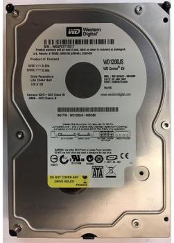 "Жорсткий диск Western Digital Caviar SE 120ГБ 7200об/м 8МБ 3.5"" SATA II (WD1200JS) Refurbished"