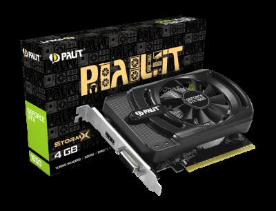 Відеокарта Palit GeForce GTX 1650 StormX 4Gb DDR5 128-bit DVI/HDMI 1665/8000 MHz (NE51650006G1-1170F)