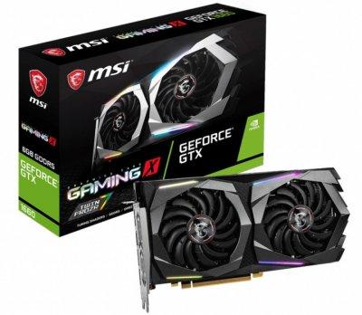 Відеокарта MSI Gaming X GeForce GTX 1660 6Gb DDR5 192-bit HDMI/3xDP 1860/8000 MHz 8-pin (GTX 1660 GAMING X 6G)