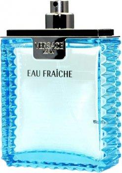 Тестер Туалетная вода для мужчин Versace Man Eau Fraiche 100 мл (8018365500099)