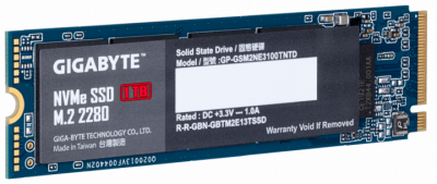 Gigabyte NVMe SSD 1TB M. 2 2280 (GP-GSM2NE3100TNTD)