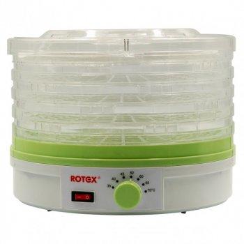 Сушилка фруктов овощей дегидратор Rotex RD310-W 5 ярусов (1123310)