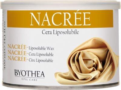 Воск для депиляции Byothea Cera Liposolubile Перламутр 400 мл (8054377035723)