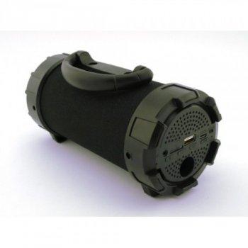 Портативна bluetooth стерео колонка SPS F18 Super Bass Black mp 3 бездротова акустична колонка