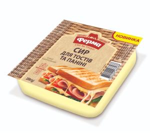 Сир м'який Ферма для тостів і паніні 45% 200г