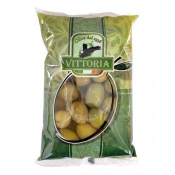 Оливки Verdi dolce giganti Vittoria, пакет, 850г