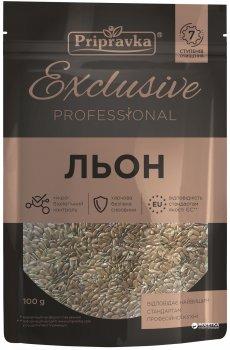 Упаковка льону Приправка Exclusive Professional 100 г х 3 шт (4820195512692)