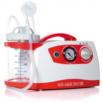 Портативный медицинский аспиратор «NEW ASKIR 230/12V BR» RE-310211