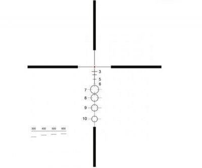 Приціл ELCAN Specter DR 1.5-6х (для калібру 5.56х45) з підсвічуванням