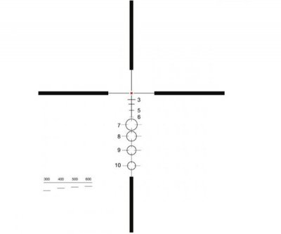 Приціл ELCAN SpecterDR 1-4x (для калібру 7.62х51) з підсвічуванням