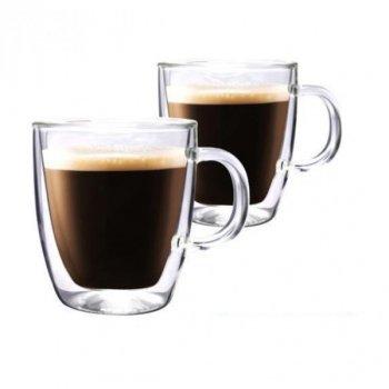 Набор чашек с двойным дном 400 мл Ardesto набор кружек с двойным дном прозрачные 2 шт