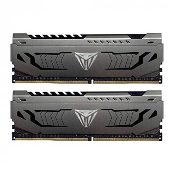 Оперативна пам'ять Patriot Viper DDR4 Steel 16GB 3400 MHz CL16 (Kit of 2x8192) DIMM (PVS416G340C6K)