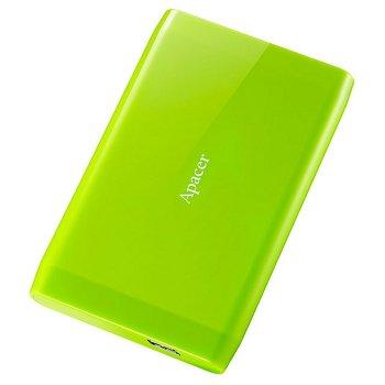 """Жорстку зовнішній диск Apacer USB 3.0 AC235 500GB 2,5"""" Зелений (AP500GAC235G-1)"""