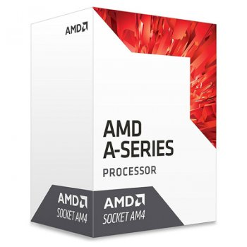 Процесор AMD Bristol Ridge A8-9600 3.1 ГГц Socket AM4 BOX (AD9600AGABBOX)