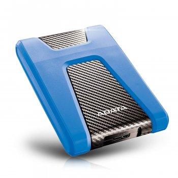 """Жорсткий диск зовнішній A-DATA USB 3.2 Gen1 HD650 1TB 2,5"""" Синій (AHD650-1TU31-CBL)"""