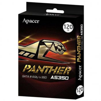 "Накопичувач SSD Apacer AS350 Bulk 120GB 2.5"" SATAIII 3D TLC (AP120GAS350)"