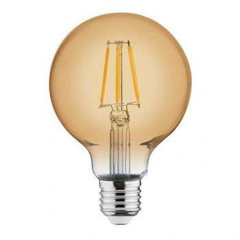 Світлодіодна лампа Едісона Horoz Filament VINTAGE GLOBE-4 4W D95 Е27 2200K (58956)