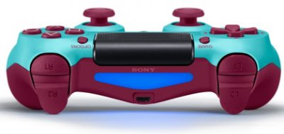 Бездротовий геймпад PlayStation Dualshock 4 Bluetooth PS4 Berry Blue