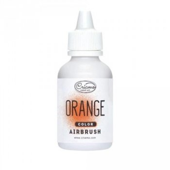 ¶Краситель пищевой для аэрографа Criamo Оранжевый (Orange), 60 г