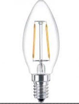 Лампа Lemanso св-ва 5W C35 E14 COB 500LM 4500K 220V / LM3074 свічка clear