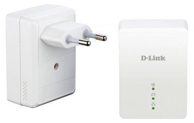 Комплект адаптеров PowerLine AV+ D-Link DHP-209AV