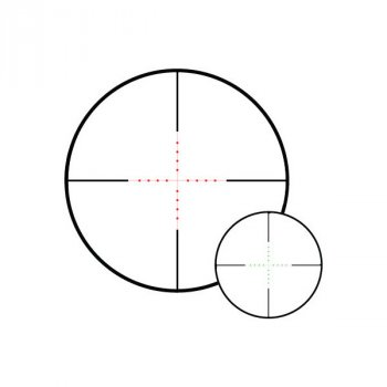 Приціл оптичний Hawke Vantage IR 4-12x50 (Mil Dot R/G)