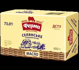 Масло Ферма селянське 73% 400г