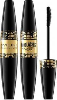 Туш для вій Eveline ReveLashes об'єм Чорна 10 мл (5901761941500)