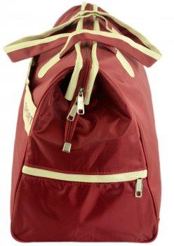 Дорожная сумка TRAUM 32 х 49 х 22 см красная (7065-27)