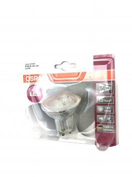 LED лампа з холодним світлом GU 10 OSRAM прозорий-металік K01-110141