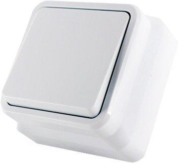 1-клавишный выключатель Erste electric Country Белый (8005-01,W)