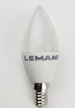 Лампа Lemanso св-ва 5W C37 E14 400LM 6500K 175-265V / LM228