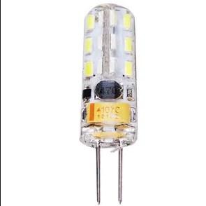Лампа Lemanso св-ва G4 24LED 1,5 W AC/DC 12V 150LM 4500K силікон / LM3030