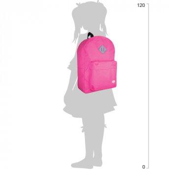 Рюкзак молодіжний Cool For School 43 х 32 х 20 см 28 л Рожевий (CF85614-16)