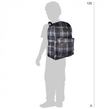 Рюкзак молодіжний Cool For School унісекс 43 х 32 х 20 см 28 л Сірий (CF85614-14)