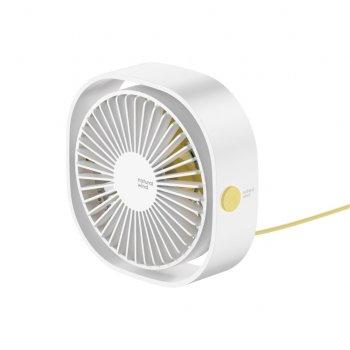 Вентилятор Baseus Flickering Desktop Fan Белый