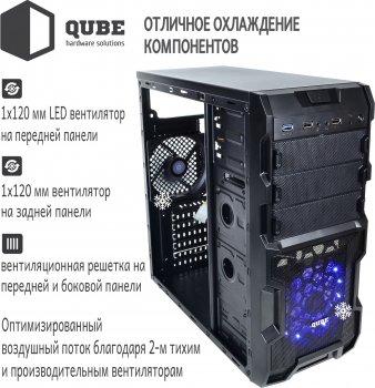 Корпус QUBE QB932A Black (QB932A_MBNU3)