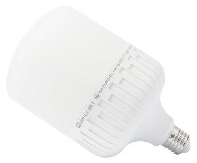 Светодиодная лампа ЕВРОСВЕТ 40W E27 6400K EVRO-PL-40-6400-27 (39473)