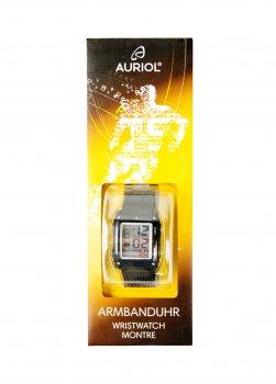 Годинник Auriol 23х3,5 см (acs0000009) Чорний