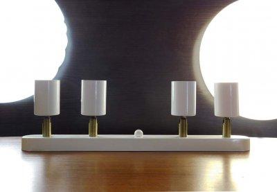 Спот поворотный на 4-лампы SLEEVE-4 E27 белый