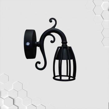 Спот поворотний на 1-лампу TWIST/CUP GU10 чорний бра