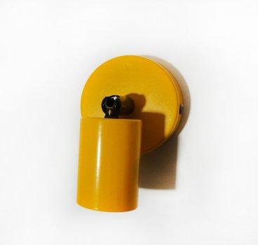 Спот поворотный на 1-лампу SLEEVE E27 оранжевый