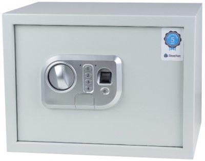 Сейф мебельный с биометрическим замком SteelNet SN-MC520F-26Touch-7035