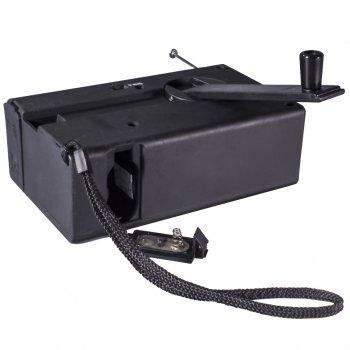 Ліхтар-колонка Haoyi HY-018 Black з динамо-машиною і вбудованим акумулятором