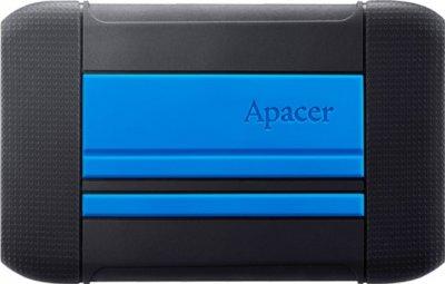 "Жорсткий диск Apacer AC633 2TB 5400rpm 8MB AP2TBAC633U-1 2.5"" USB 3.1 Speedy Blue"