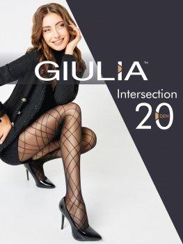 Колготки Giulia Intersection (1) 20 Den Nero