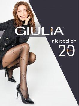 Колготки Giulia Intersection (2) 20 Den Nero