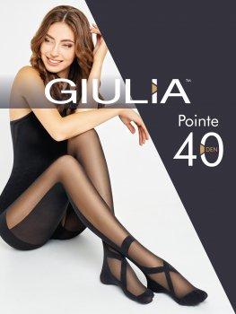 Колготки Giulia Pointe 40 Den Nero
