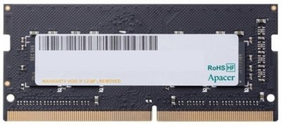 Оперативная память Apacer SODIMM DDR4-2133 4096MB PC4-17000 (ES.04G2R.KDH)