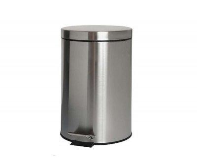 Відро для сміття BISK 3 л, хром (00125)